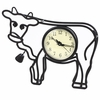 Cow Silhouette Wall and Table Clock