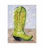 Cowboy Boot Yippie-ia Canvas Reproduction