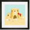 Crab Kingdom Framed Art Print