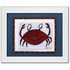 Crab Personalized Framed Canvas Reproduction