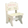 Crackled Rose Girls Time Out Chair