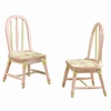Crackled Rose Set of 2 Chair