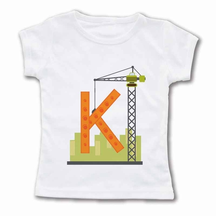 Crane Monogram Personalized T-Shirt