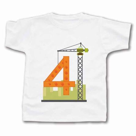 Crane Number Personalized T-Shirt