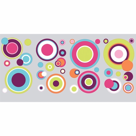 Crazy Dots Peel & Stick Wall Decals