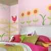 Crazy Quilt Fence Peel & Stick Wall Decals
