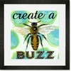 Create a Buzz Framed Art Print