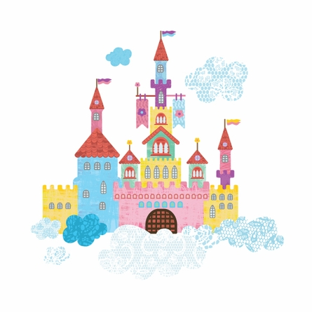 Create a Castle Wall Decals