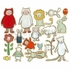 Creative Critters Peel & Place Wall Stickers