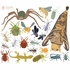 Creepy Crawlies Fabric Wall Decals