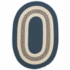 Crescent Rug in Lake Blue
