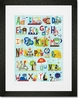 Critters, Cars and Creatures Framed Art Print