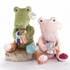 Croc in Socks Plush Toy and Baby Socks Gift Set in Green