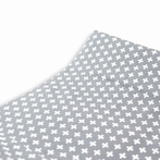 Cross Changing Pad Cover in Gray