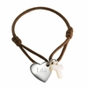 Cross Heart Kids Bracelet