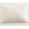 Cross Stitch Decorative Pillow Sham in Fern