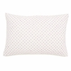 Cross Stitch Decorative Pillow Sham in Lilac