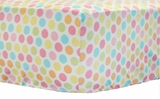 Cupcake Dot Crib Sheet $(+58.00)