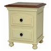 Curved Drawer Nightstand