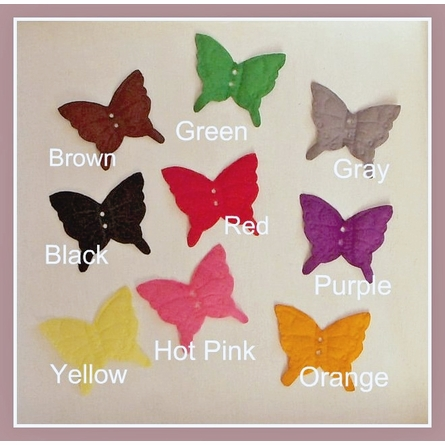 Custom Colors Butterfly Mobile
