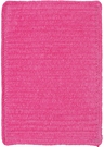 Custom Creations Braided Rug in Hot Pink