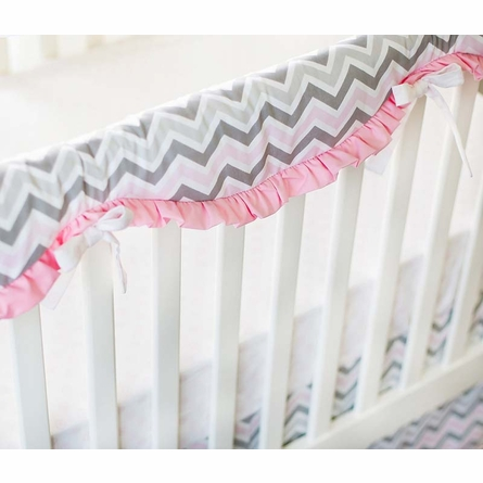 Custom Crib Rail Cover