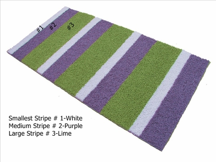 Custom Striped Rug