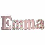 Custom Wall Letters for Girls