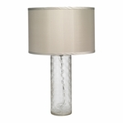 Cut Glass Cylinder Table Lamp