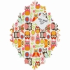 Cute Little Owls Baroque Magnet Board