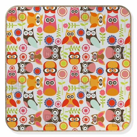 Cute Little Owls BlingBox
