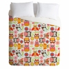 Cute Little Owls Lightweight Duvet Cover