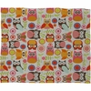 Cute Little Owls Fleece Throw Blanket