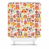 Cute Little Owls Shower Curtain