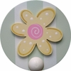 Daisy Wall Peg - Set of Two