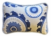 Dakota Blue Throw Pillow