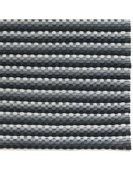 Dalamere Braided Rug in Gray