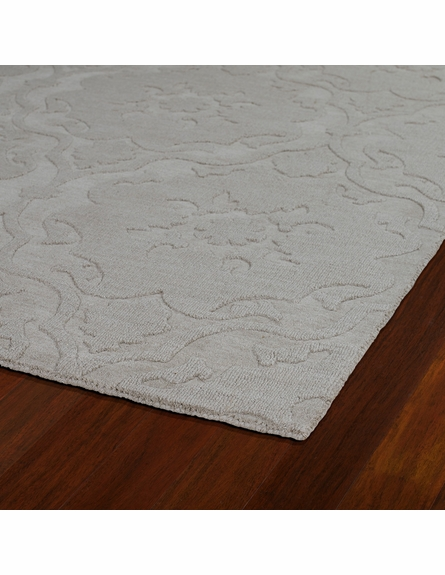 Damask Imprints Classic Rug in Beige