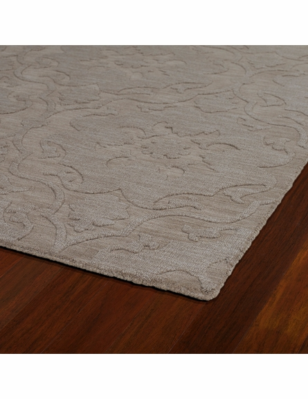 Damask Imprints Classic Rug in Light Brown