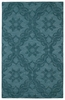 Damask Imprints Classic Rug in Turquoise