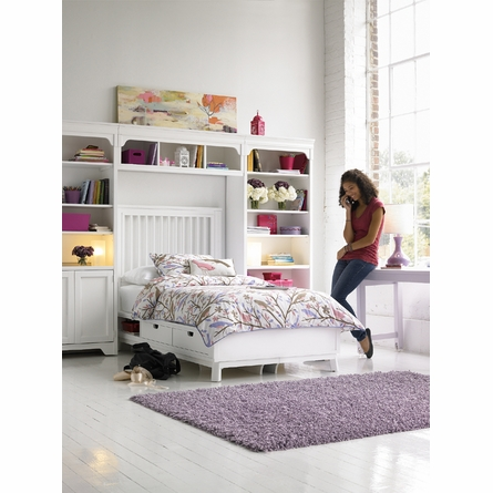 Dana Above Bed Wall Storage Unit with Doors
