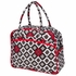 Dana Daytripper Diaper Bag in Royal Ruby Montage