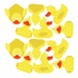 Dancing Rubber Duckies Fabric Wall Decals