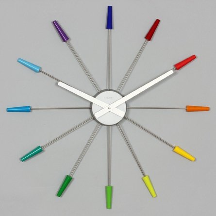 Daphne Multi-Color Clock