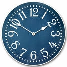 Dapper Blue Kids Wall Clock