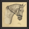 Dappled Gray Horse Framed Wall Art