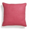 Dark Pink Willow Basket Weave Pillow