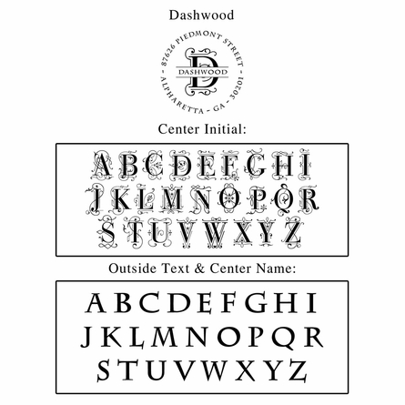 Dashwood Personalized Self-Inking Stamp