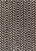 Davin Waves Rug in Brown