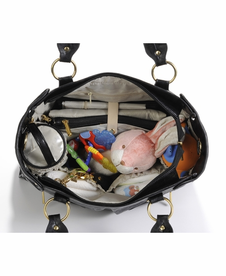Dawn Diaper Bag - Black